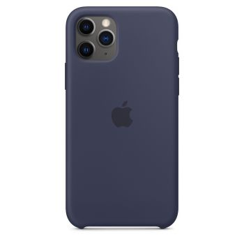 Чехол Apple Silicone Case Midnight Blue для iPhone 11 Pro