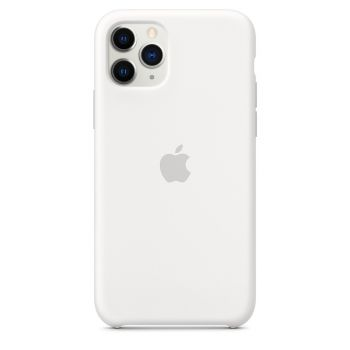 Чехол Apple Silicone Case White для iPhone 11 Pro