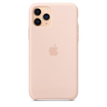 Чехол Apple Silicone Case Pink Sand для iPhone 11 Pro