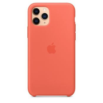 Чехол Apple Silicone Case Clementine (Orange) для iPhone 11 Pro