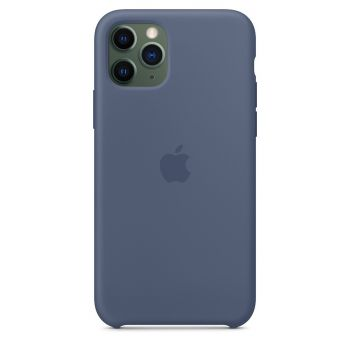 Чехол Apple Silicone Case Alaskan Blue для iPhone 11 Pro