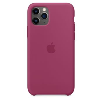 Чехол Apple Silicone Case Pomegranate для iPhone 11 Pro