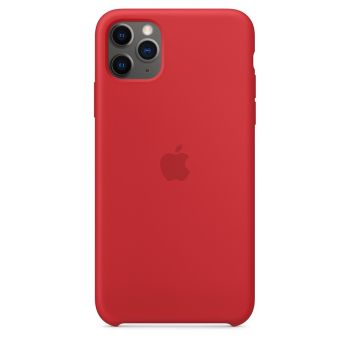 Чехол Apple Silicone Case Red для iPhone 11 Pro Max