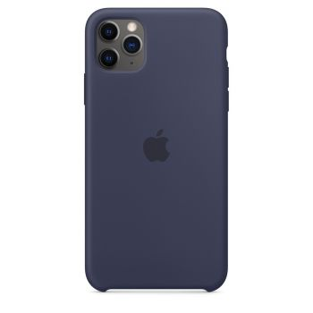 Чехол Apple Silicone Case Midnight Blue для iPhone 11 Pro Max