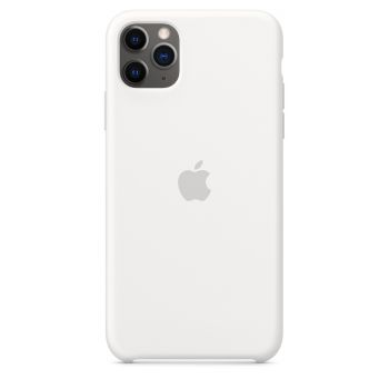 Чехол Apple Silicone Case White для iPhone 11 Pro Max