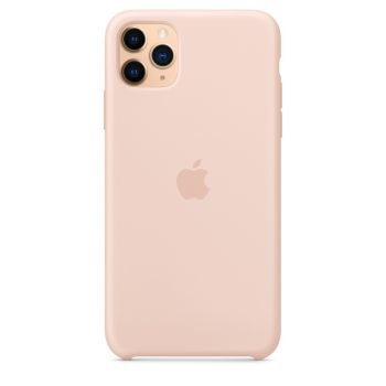 Чехол Apple Silicone Case Pink Sand для iPhone 11 Pro Max