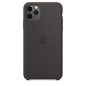 Чехол Apple Silicone Case Black для iPhone 11 Pro Max