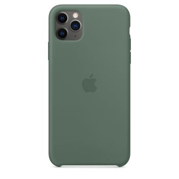 Чехол Apple Silicone Case Pine Green для iPhone 11 Pro Max