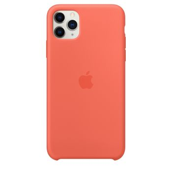 Чехол Apple Silicone Case Clementine (Orange) для iPhone 11 Pro Max
