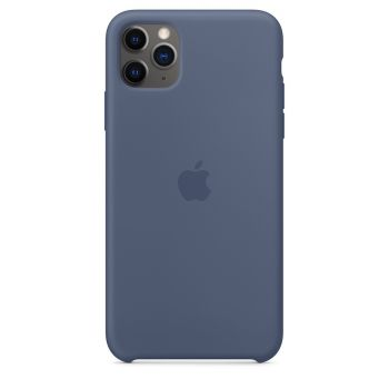 Чехол Apple Silicone Case Alaskan Blue для iPhone 11 Pro Max