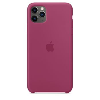 Чехол Apple Silicone Case Pomegranate для iPhone 11 Pro Max