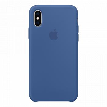 Чехол Apple Silicone Case для iPhone X/Xs Delft Blue