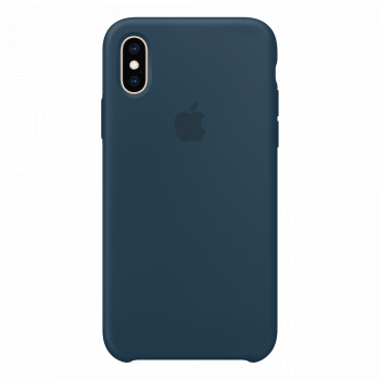 Чехол Apple Silicone Case для iPhone X/Xs Pacific Green