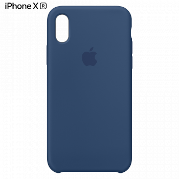 Чехол Apple Silicone Case для iPhone XR Blue Horizon