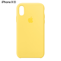 Чехол Apple Silicone Case для iPhone XR Canary Yellow