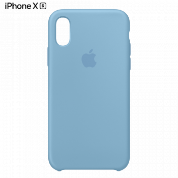 Чехол Apple Silicone Case для iPhone XR Cornflower