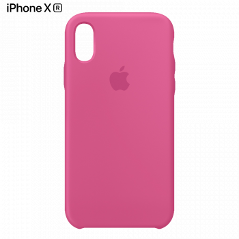 Чехол Apple Silicone Case для iPhone XR Dragon Fruit