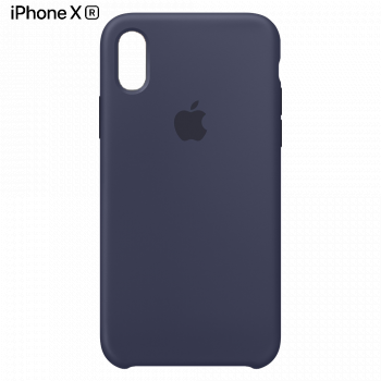 Чехол Apple Silicone Case для iPhone XR Midnight Blue