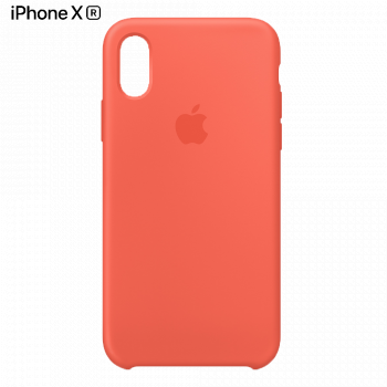 Чехол Apple Silicone Case для iPhone XR Nectarine