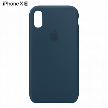 Чехол Apple Silicone Case для iPhone XR Pacific Green