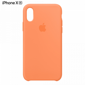 Чехол Apple Silicone Case для iPhone XR Papaya