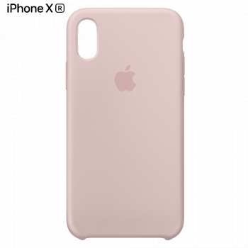 Чехол Apple Silicone Case для iPhone XR Pink Sand