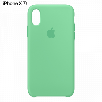 Чехол Apple Silicone Case для iPhone XR Spearmint