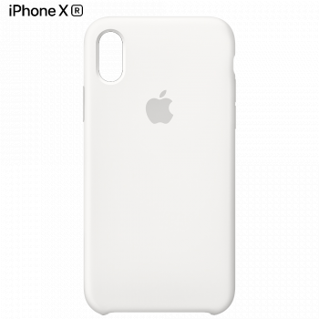 Чехол Apple Silicone Case для iPhone XR White