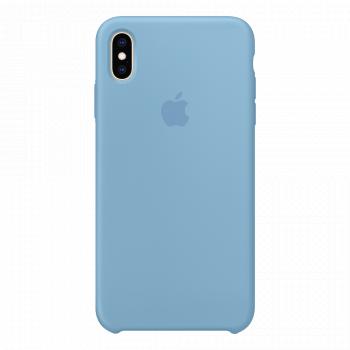 Силиконовый чехол для iPhone XS Max Cornflower (оригинал)
