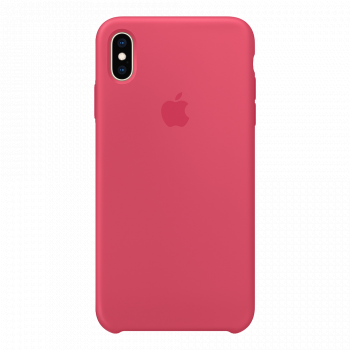 Силиконовый чехол для iPhone XS Max Hibiscus (оригинал)