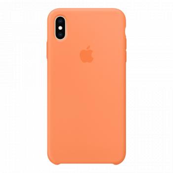 Силиконовый чехол для iPhone XS Max Papaya