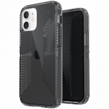 Ударопрочный чехол Speck Presidio Perfect Clear with Grips Obsidian / Obsidian для iPhone 11