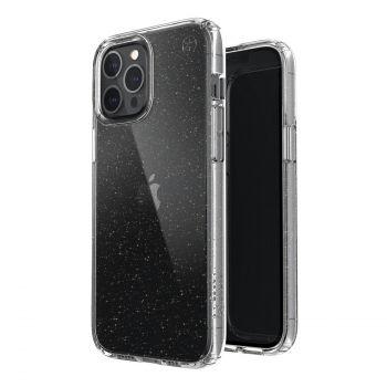 Ударопрочный чехол Speck Presidio Perfect Clear with Gold Glitter для iPhone 12 Pro Max