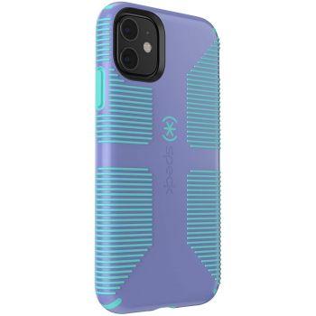 Ударопрочный чехол Speck CandyShell Grip Wisteria Purple/Mykonos Blue для iPhone 11