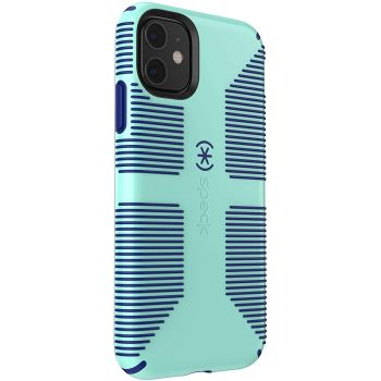 Ударопрочный чехол Speck CandyShell Grip Cool Blue/Cadet Blue для iPhone 11