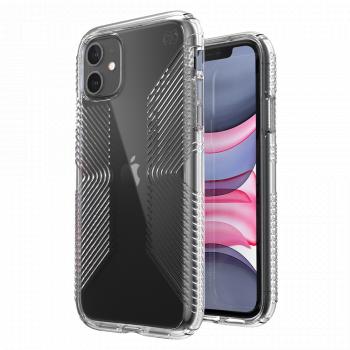 Ударопрочный чехол Speck Presidio Perfect Clear with Grips для iPhone 11