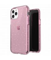Ударопрочный чехол Speck Presidio Clear + Glitter Bella Pink with Gold Glitter для iPhone 11 Pro Max
