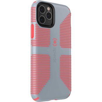 Ударопрочный чехол Speck CandyShell Grip Nickel Grey/Warning Orange для iPhone 11 Pro