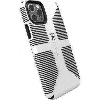 Ударопрочный чехол Speck CandyShell Grip White/Black для iPhone 11 Pro