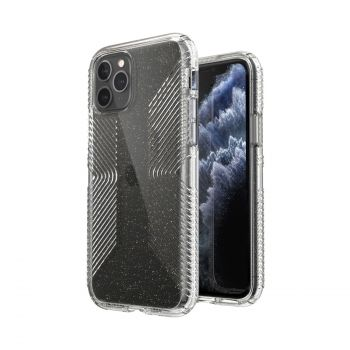 Ударопрочный чехол Speck Presidio Perfect-Clear Glitter + Grips для iPhone 12 Pro Max