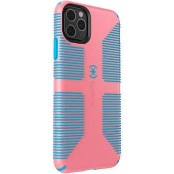 Ударопрочный чехол Speck CandyShell Pro Grip Toucan Pink/Capri Blue для iPhone 12 Pro Max