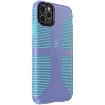 Ударопрочный чехол Speck CandyShell Grip Wisteria Purple/Mykonos Blue для iPhone 11 Pro Max