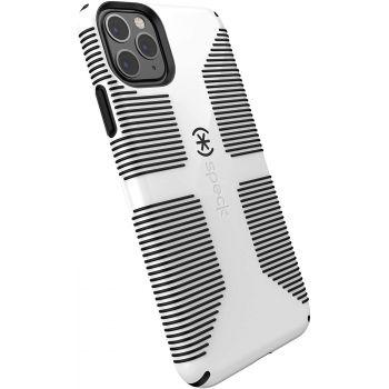 Ударопрочный чехол Speck CandyShell Grip White/Black для iPhone 11 Pro Max