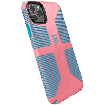 Ударопрочный чехол Speck CandyShell Grip Toucan Pink/Capri Blue для iPhone 11 Pro Max