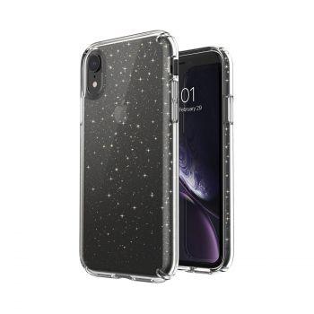 Чехол Speck Presidio Clear + Glitter для iPhone XR Clear/Gold Glitter