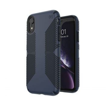 Чехол Speck Presidio Grip для iPhone XR Eclipse Blue/Carbon Black
