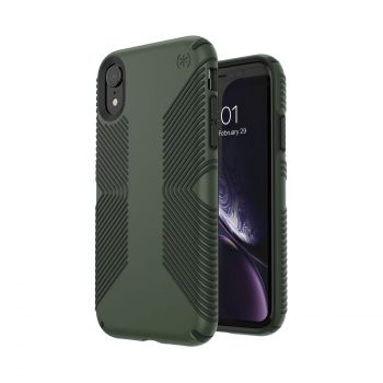 Чехол Speck Presidio Grip для iPhone XR Dusty Green/Brunswick Black
