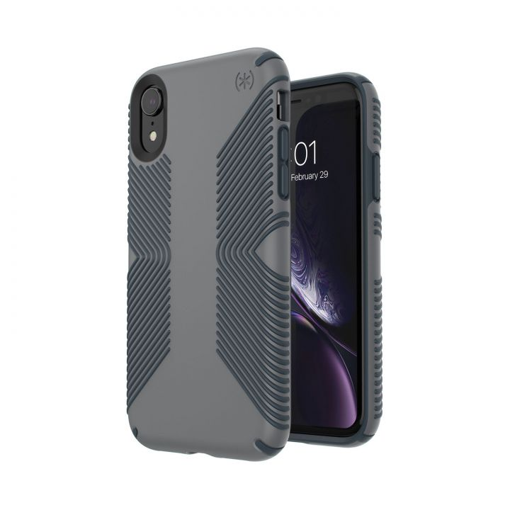 Чехол Speck Presidio Grip для iPhone XR Graphite Grey/Charcoal Grey