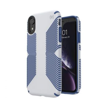 Чехол Speck Presidio Grip для iPhone XR Microchip Grey/Ballpoint Blue