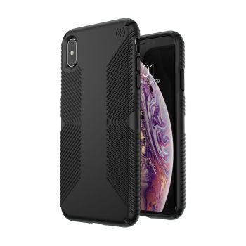 Чехол Speck Presidio Grip для iPhone XS Max BLACK/BLACK